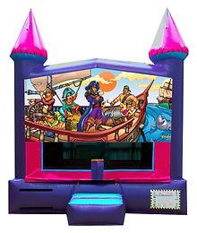 Pirates Inflatable Castle Rentals