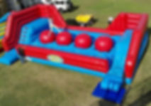 Hop n Flop Wipe Out Inflatable Event Game