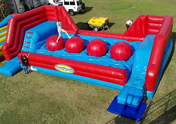 Hop n Flop Wipe Out Inflatable Corporate Carnival Event Game Rental