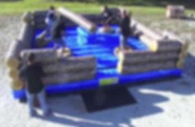 Log Jump Rental