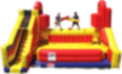 Battlezone Jousting Inflatable Game Rental