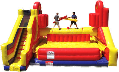 Battlezone Jousting Inflatable Corporate Carnival Event Game Rental
