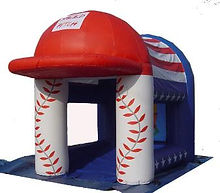 Fast Pitch All American Inflatable Game