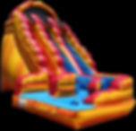 Wild Rapids Giant Inflatable Water Slide