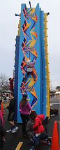 Ninja Tower Climbing Wall Rentals for Corporate Events, Church and School Carnivals and Festivals