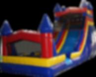Themed Castle Giant Slide Rentals