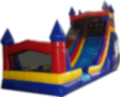 Themed Castle Giant Slide Rentals