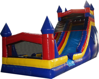 Themed Castle Corporate Carnival Event Slide Rental