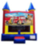 Fire Truck Inflatable Rentals