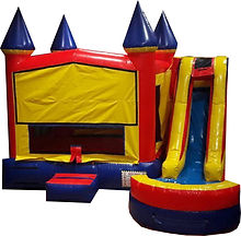 inflatable jump and slide to rent