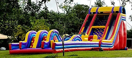Giant Rush Carnival Event Obstacle Course
