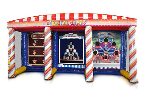 3 Game Carnival Tent
