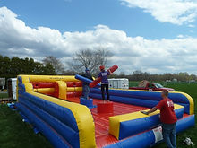 Jousting Inflatable Game Rental