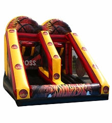 Criss Cross Inflatable Basketball Game