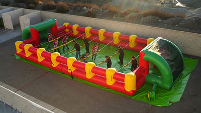 Human Foosball Inflatable Interactive Rental