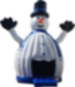 Snowman Dancing Dome Inflatable Event Rentals