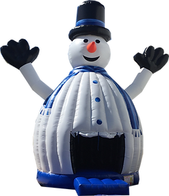 Snowman Dancing Dome Inflatable Event Party Rental
