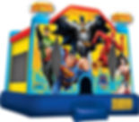 Justice League Bounce House Event Rental
