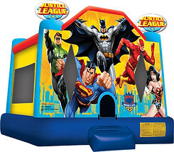 Justice League Bounce House Corporate Carnival Event Rentals