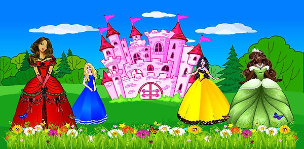 Princess Party Inflatable Rentals