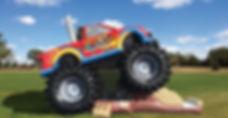 Monster Truck Inflatable Rentals