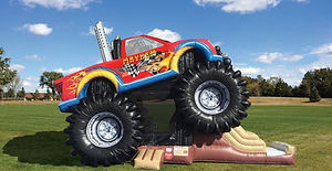 Monster Truck Corporate Carnival Event Inflatable Rental