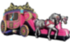 Princess Carriage Infatable Rentals