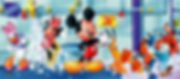 Mickey Mouse an Minnie Mouse Inflatable Jumpers for rent