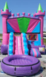 Inflatable Toddler Water Slide Rental