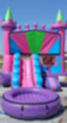 Inflatable Toddler Water Slide Rental