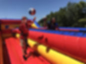 Bungee Basketball / Bungee Run Interactive Inflatable Game