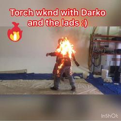 I had a great wknd during Darko Tuskan's