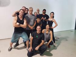 Darko Tusken Stunt training crew :)