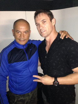 Chatting with Temuera Morrison