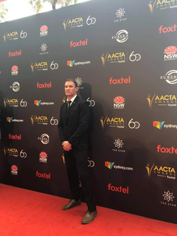 On the Red Carpet at the AACTA 2018