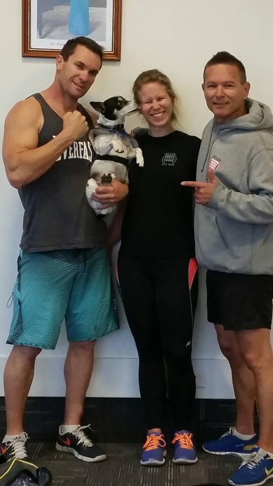 Krav Training with Sama, and Moey _)