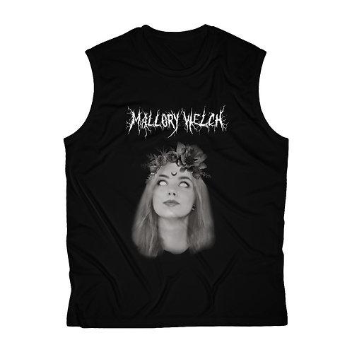 Mallory Welch Black Metal Men's Sleeveless Performance Tee