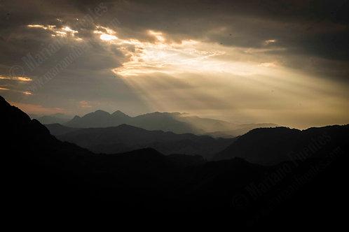 Nong Khiaw mountains