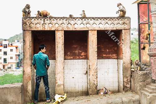 Indian public toilets
