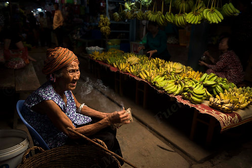 The old lady of the market