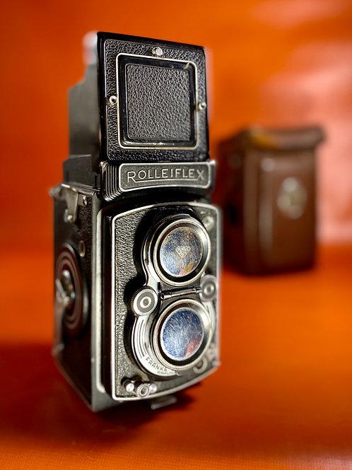 Camara Analógica | Rolleiflex | Formato medio