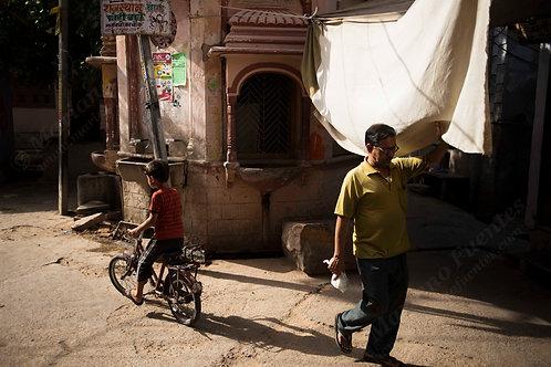 A street in Pushkar