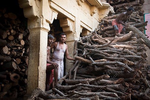 Cremation workers