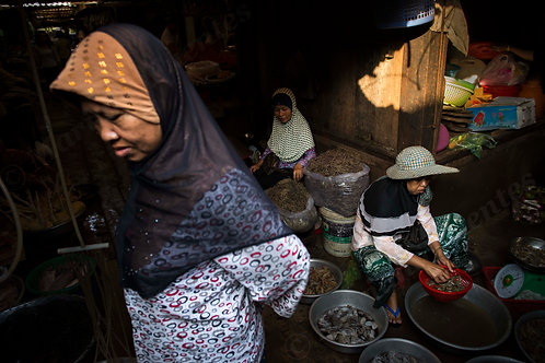 The Muslim saleswomans