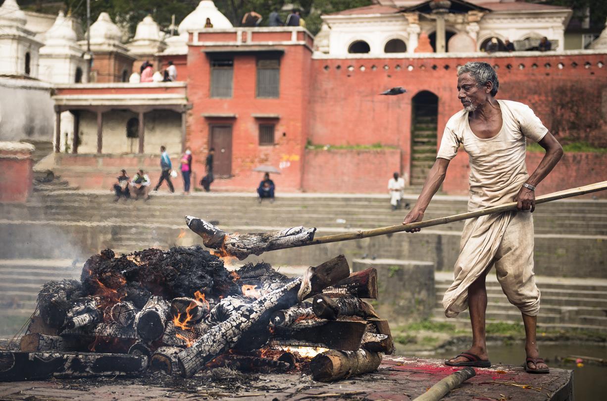 Cremaciones:Templo Pashupatinath