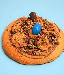 6 Cookies M&m's, Chocolat au lait & Beurre de cacahuète