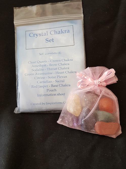 Crystal Chakra Set