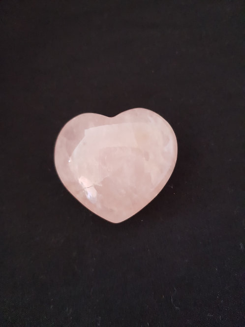 Rose Quartz Crystal Gemstone Heart
