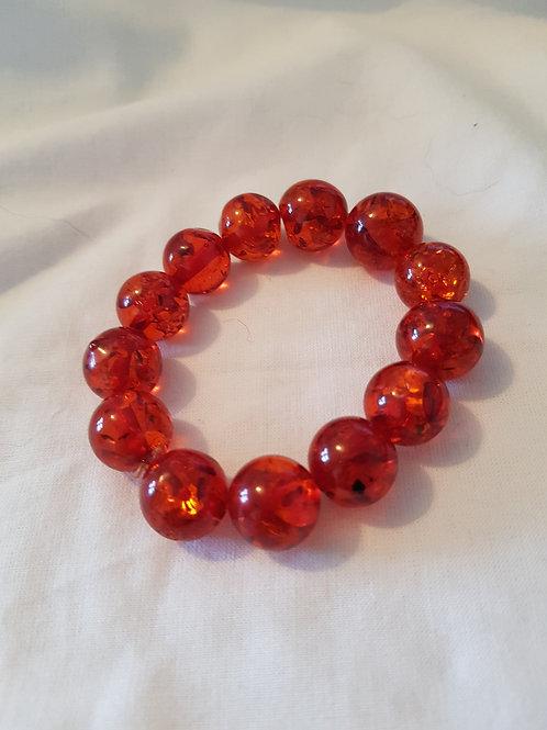Amber Resin Bracelet