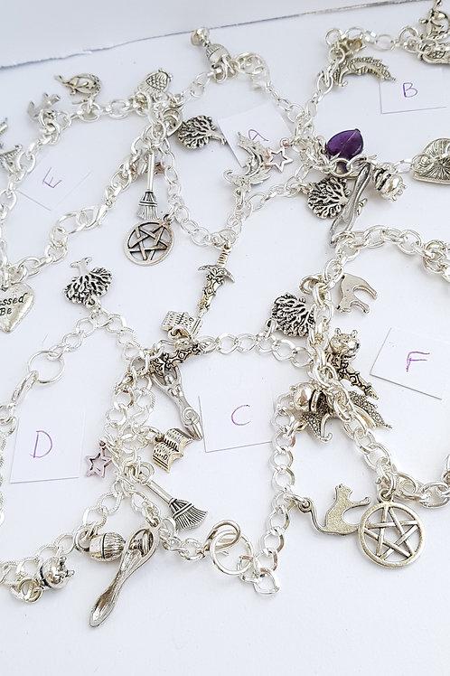 Pagan Charm Bracelet